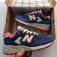 Стильные женские кроссовки нью беланс 580, кроссовки New Balance 580