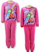 Пижама флисовая для девочек Disney оптом, 3-8 лет.