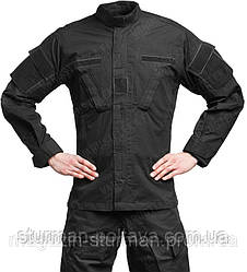 Костюм полевой армейский  ACU  цвет  черный хлопок 100%  Rip-Stop  Tesar  Германия