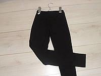 Черные лосины для девочек, школа-танцы. Размер 150-158