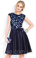 Платье вечернее Mari Zaps темно-синего цвета. Размер 2XL, фото 1