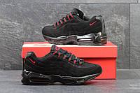 Кроссовки Nike 95, чёрно красные