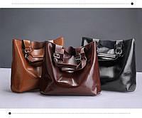 Сумка натуральная кожа ss258463  кожаные сумки графит, чёрный , молочная