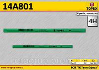 Карандаш каменщика 4H,  TOPEX  14A801