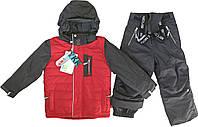 Зимний термокомплект для мальчиков NANO F17 M 255Salsa Red Mix / Deep Grey. Размеры 12мес.-12лет., фото 1