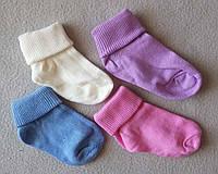 Детские носки для новорожденных 0-12 мес Турция 12 шт/уп