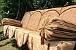 """Садовые качели """"Невеста"""" с мягкой частью (цвет белый), фото 4"""