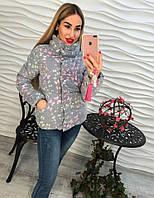 Женская очень стильная куртка с эффектом 3D, р.р 42-46
