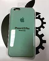 Чехол Silicone Case iPhone 6/6S Plus Бирюза