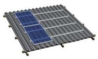 Комплект системы крепления на металлочерепичную скатную крышу (от 4 до 40 панелей)
