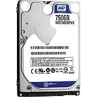 "Жесткий диск HDD 2.5"" WD Blue 750GB, 5400 об/мин, S-ATA III, 600 MB/с, кэш-память 8 MB"