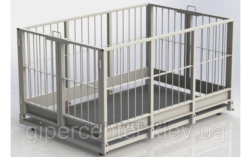 Весы для взвешивания скота до 3000 кг с платформой 1500x2000 мм 4BDU-3000X СТАНДАРТ.