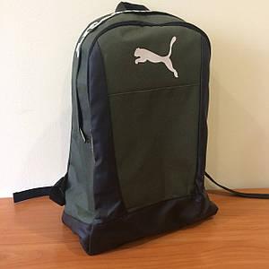 Мужской спортивный рюкзак Puma хаки