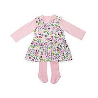 Розовый комплект для маленьких модниц