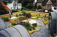 """Строительство домов с """"зеленой крышей"""""""