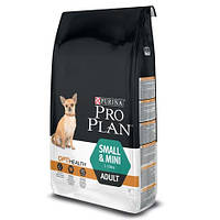 Корм для взрослых собак мелких пород Pro Plan (Про План) Adult Small and Mini 3 кг.