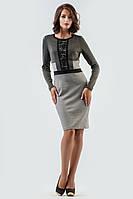 Нарядное  платье футляр большого размера