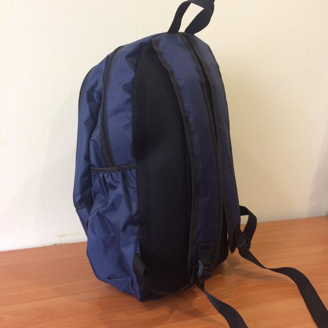 Мужской синий рюкзак спортивный Adidas
