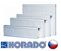 Стальной радиатор KORADO VK 33 тип 600 х 1200 нижнее подключение (Чехия)