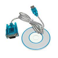 Переходник USB RS232 DB9 COM c CD