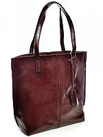 Женская кожаная сумочка кофейная 8287