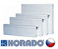 Стальной радиатор KORADO VK 11 тип 500 х 1000 нижнее подключение (Чехия)