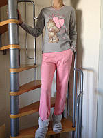 Женская пижама Мишка интерлок, производитель Falkon, TM Fawn. Разные цвета, размеры.