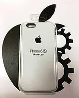 Чехол Silicone Case iPhone 6/6S Plus Белый