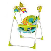 Детское кресло-качели с электроприводом M 1540-4 Bambi