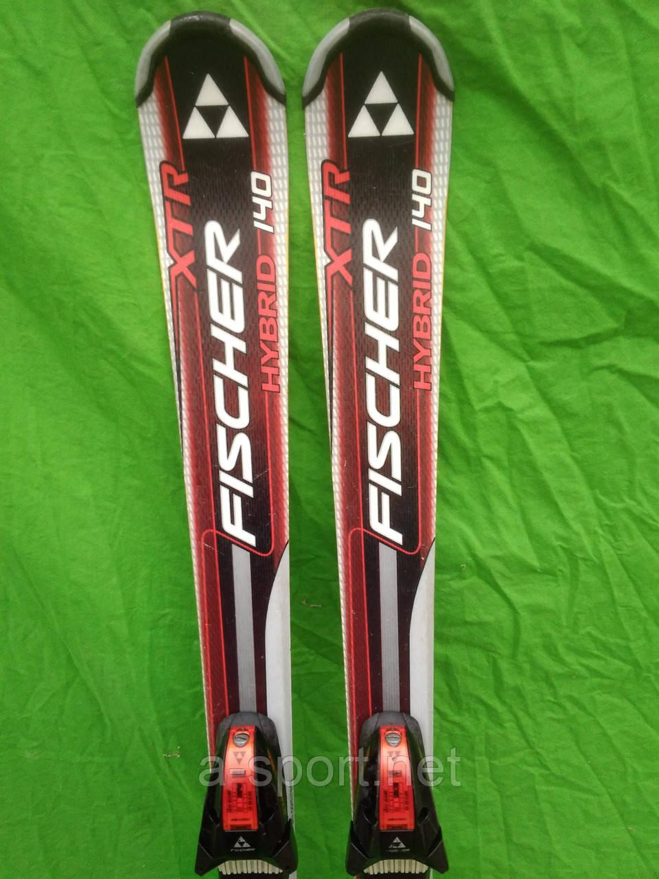 Fisher XTR Hybrid 140 см гірські лижі для карвінгу  продажа 80df4846a846b