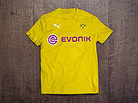 Клубная футболка Боруссия, Borussia, желтая, Ф3554