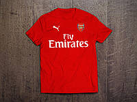 Клубная футболка Арсенал, Arsenal, красная, Ф3557