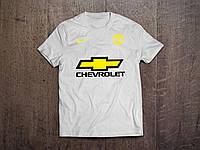 Клубная футболка Манчестер Юнайтед, MU, белая, Ф3580