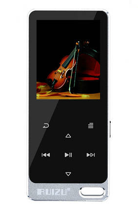 MP3 Плеер RuiZu X05S (X19) 8Gb Original Серебро, фото 2
