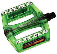 Педали пластиковые Wellgo B-108RP-GRIN green