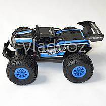 Скоростной машинка джип на радиоуправлении внедорожник Багги синий Extreme 307, фото 3