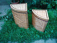 Плетеный сундук для белья 2 штуки пара