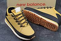 Зимние кроссовки New Balance , рыжие