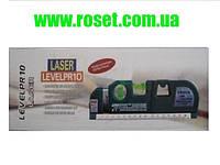 Лазерный уровень Levelpro 4 Laser с рулеткой