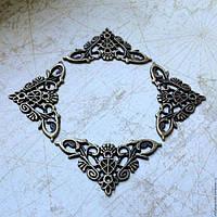 Декоративные металлические уголки - универсальная защита от сколов рамок, картин, мебели