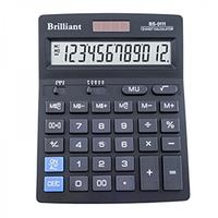 Настольный калькулятор brilliant bs-0111 на 12 разрядов двухуровневая память