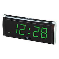 Будильник vst 730-4, электронный, настольные часы, сетевые, оригинальный дизайн