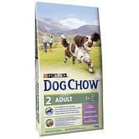 Dog Chow Adult with Lamb корм для взрослых собак с ягненком, 2.5 кг