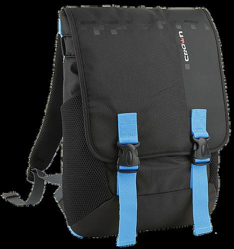 "Молодежный рюкзак для ноутбука 15,6"" Crown Harmony Series, BPH3315BBU черный"
