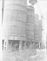 Монтаж циклонов в силосах силосного склада цемента емкостью 80 000 тн.