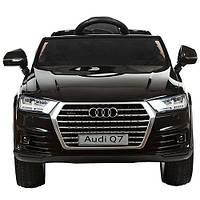 Детский электромобиль - Audi Q7 Bambi   - мягкоесиденье, амортизаторы, колеса EVA