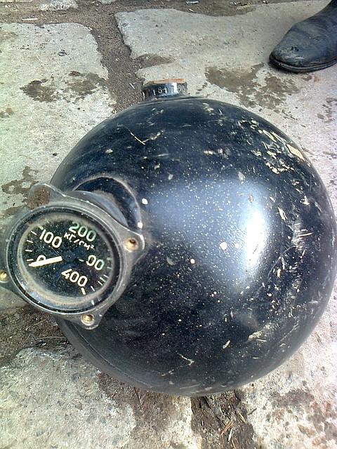 "Баллон для сжатого воздуха, 7 литров ""Шар"" (350Атм)"