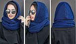 Жіночий шарф-хомут (шапка-капор) (5 кольорів), фото 3