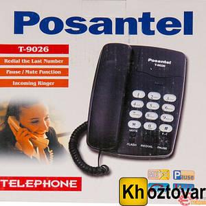 Стационарный телефон проводной Posantel T-9026