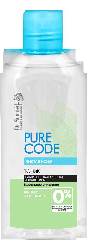 Тоник для лица для всех типов кожи Pure Code , 200 мл